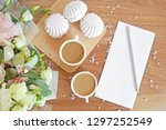romantic leave letter for... | Shutterstock . vector #1297252549