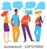 vector illustration with... | Shutterstock .eps vector #1297270003