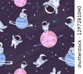 Sweet Space Seamless Pattern...