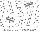 seamless pattern with... | Shutterstock .eps vector #1297319479