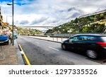 traffic in center of city porto ... | Shutterstock . vector #1297335526