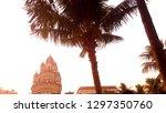 dakshineswar kali temple kolkata | Shutterstock . vector #1297350760