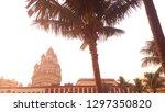 dakshineswar kali temple kolkata | Shutterstock . vector #1297350820