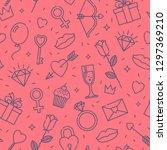 international women's day  or... | Shutterstock .eps vector #1297369210