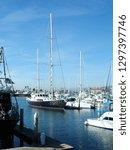 yacht pier landscape. ventura.... | Shutterstock . vector #1297397746