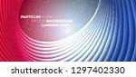 minimal trendy geometric... | Shutterstock .eps vector #1297402330