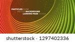 minimal trendy geometric... | Shutterstock .eps vector #1297402336