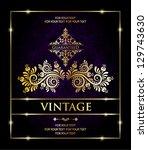 vintage backgrounds | Shutterstock .eps vector #129743630