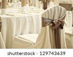 Wedding Chair With Silk Ribbon...