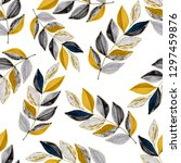creative seamless pattern with... | Shutterstock . vector #1297459876
