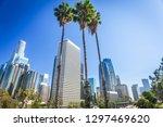 los angeles  california  usa... | Shutterstock . vector #1297469620