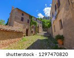 street and houses in old...   Shutterstock . vector #1297470820