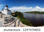 st. george church in staraya...   Shutterstock . vector #1297470853