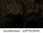 gold glitter texture isolated... | Shutterstock .eps vector #1297515943