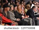 new york   february 15  people... | Shutterstock . vector #129753008
