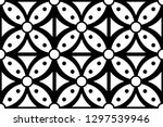 batik pattern collection ... | Shutterstock .eps vector #1297539946