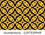 batik pattern collection ... | Shutterstock .eps vector #1297539949