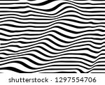 optical illusion lines... | Shutterstock .eps vector #1297554706