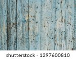 aged natural old gray and blue... | Shutterstock . vector #1297600810
