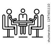 teamwork people collaboration...   Shutterstock .eps vector #1297601110