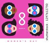 international women's day  iwd  ... | Shutterstock .eps vector #1297612750