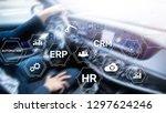 erp  business innovation...   Shutterstock . vector #1297624246