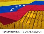 venezuela gold reserve stock ...   Shutterstock . vector #1297648690