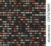 seamless geometric pattern...   Shutterstock .eps vector #1297678090