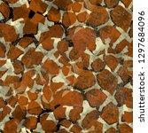 seamless pattern animal design. ... | Shutterstock . vector #1297684096