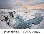 Mountain Peak With Frozen...