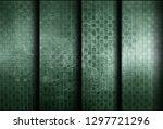 green metal background   Shutterstock . vector #1297721296