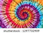 fashionable colorful retro...   Shutterstock . vector #1297732909