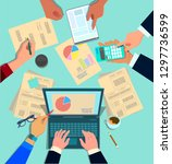 concept design of business... | Shutterstock .eps vector #1297736599
