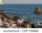 beautiful beach on the baltic... | Shutterstock . vector #1297758880