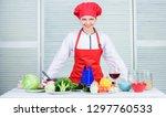 uniform for professional chef....   Shutterstock . vector #1297760533