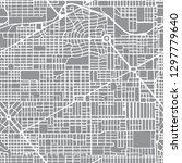 abstract seamless city plan... | Shutterstock .eps vector #1297779640