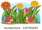 illustration of the three... | Shutterstock .eps vector #129783650