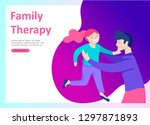 landing page templates happy...   Shutterstock .eps vector #1297871893