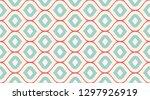 seamless geometric pattern. ... | Shutterstock .eps vector #1297926919