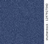 jeans washed indigo striped... | Shutterstock .eps vector #1297927540