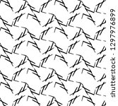 abstract monochrome background. ... | Shutterstock . vector #1297976899