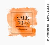 sale 70  off sign over abstract ... | Shutterstock .eps vector #1298011666