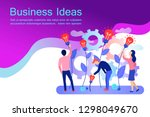 business creative idea web... | Shutterstock .eps vector #1298049670