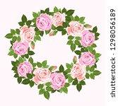 save the date wedding... | Shutterstock . vector #1298056189
