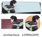 stock illustration. man with a...   Shutterstock .eps vector #1298062099