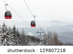 Cable Car In Beskids