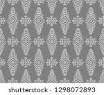 vector seamless pattern in... | Shutterstock .eps vector #1298072893