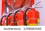 Red Tank Of Fire Extinguisher...