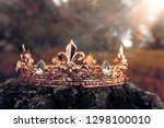 mysterious and magical photo of ... | Shutterstock . vector #1298100010