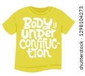 body is under construction. t... | Shutterstock .eps vector #1298104273
